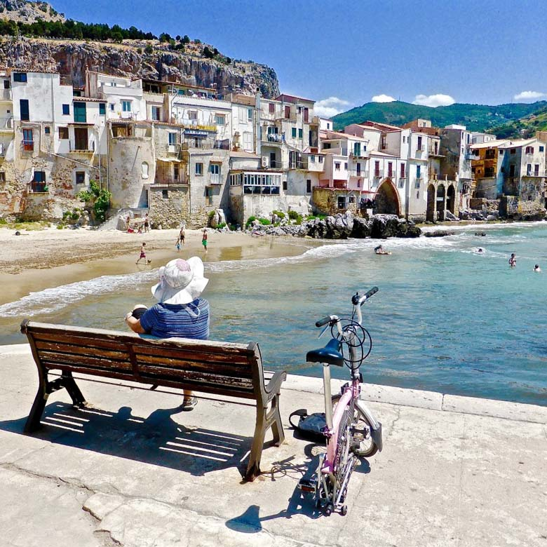 remote worker in Italy